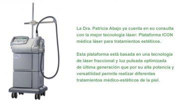 Patricia Abajo Blanco - Laser ICON ThreeForMe